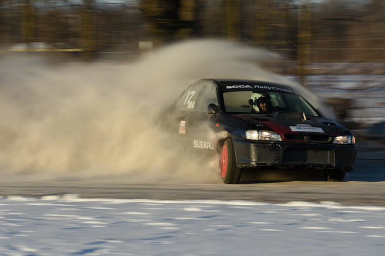 New Year's Rallycross at Crystal Motor Speedway